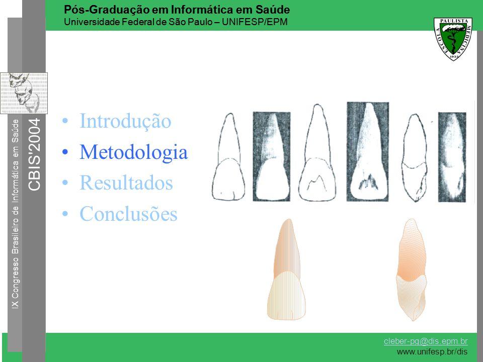 Introdução Metodologia Resultados Conclusões CBIS 2004
