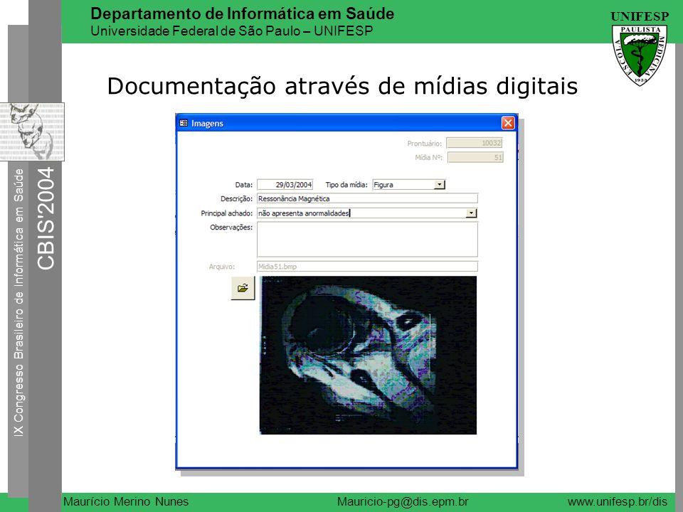 Documentação através de mídias digitais