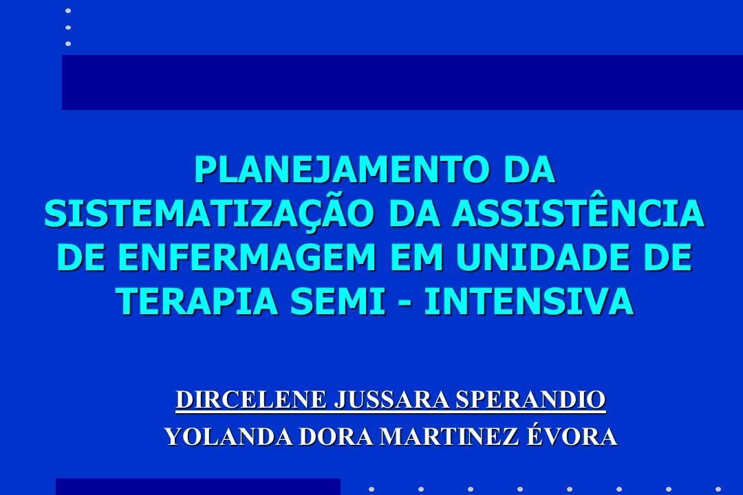 DIRCELENE JUSSARA SPERANDIO YOLANDA DORA MARTINEZ ÉVORA