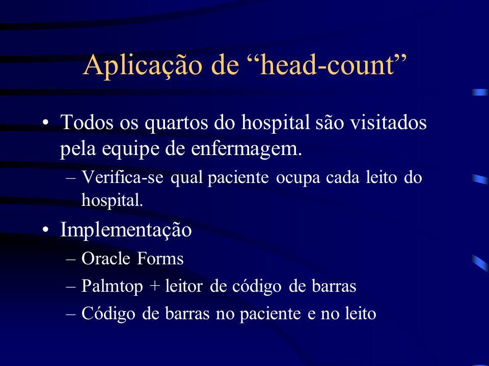 Aplicação de head-count