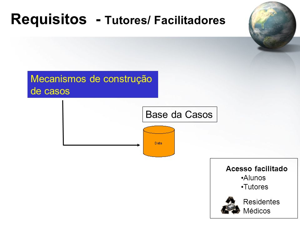 Requisitos - Tutores/ Facilitadores