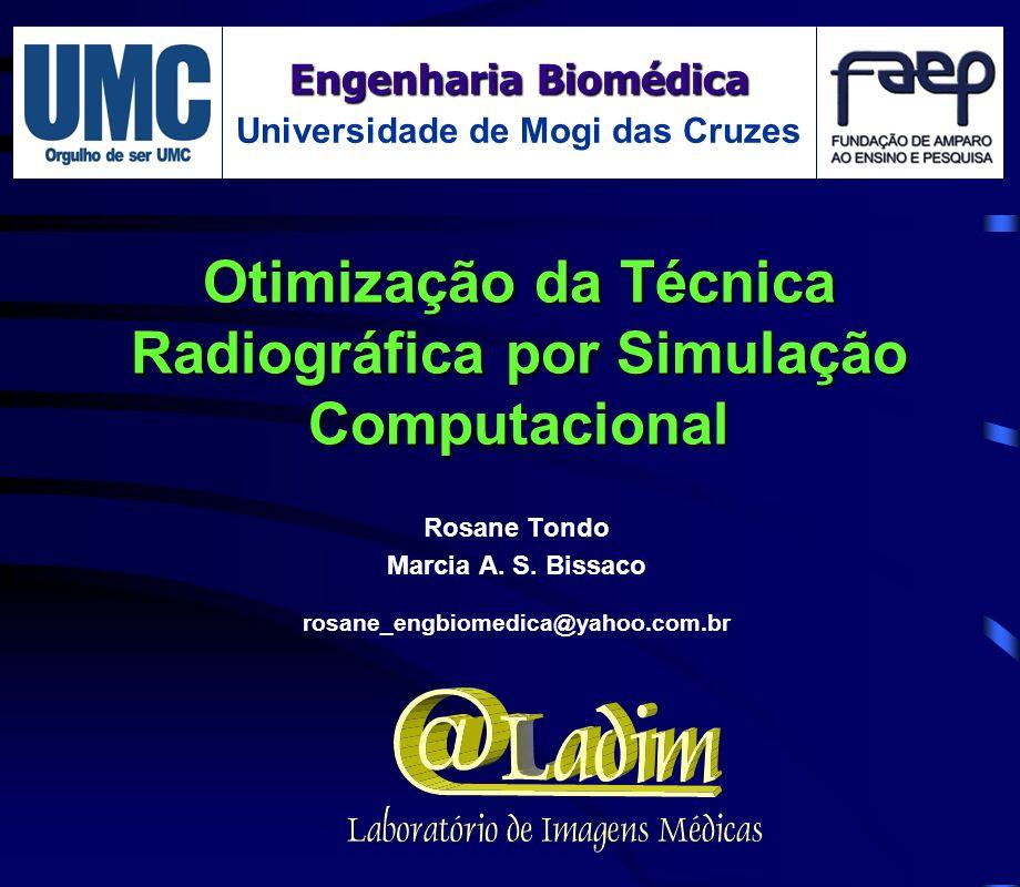 Otimização da Técnica Radiográfica por Simulação Computacional