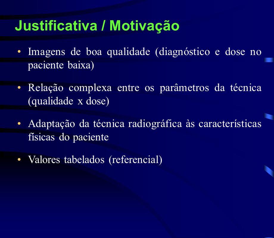 Justificativa / Motivação