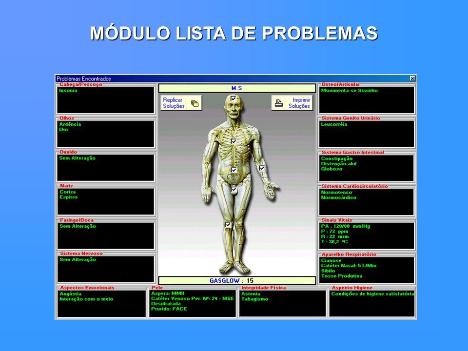 MÓDULO LISTA DE PROBLEMAS
