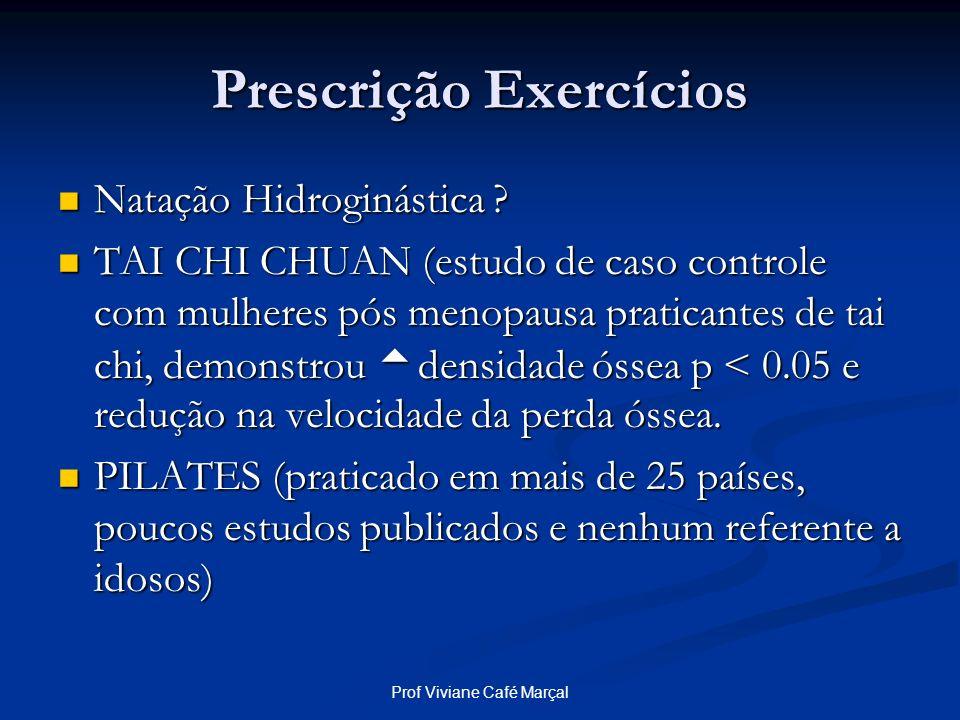 Prescrição Exercícios