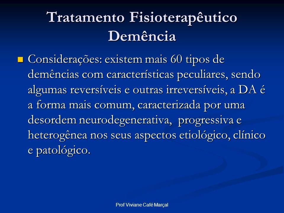Tratamento Fisioterapêutico Demência