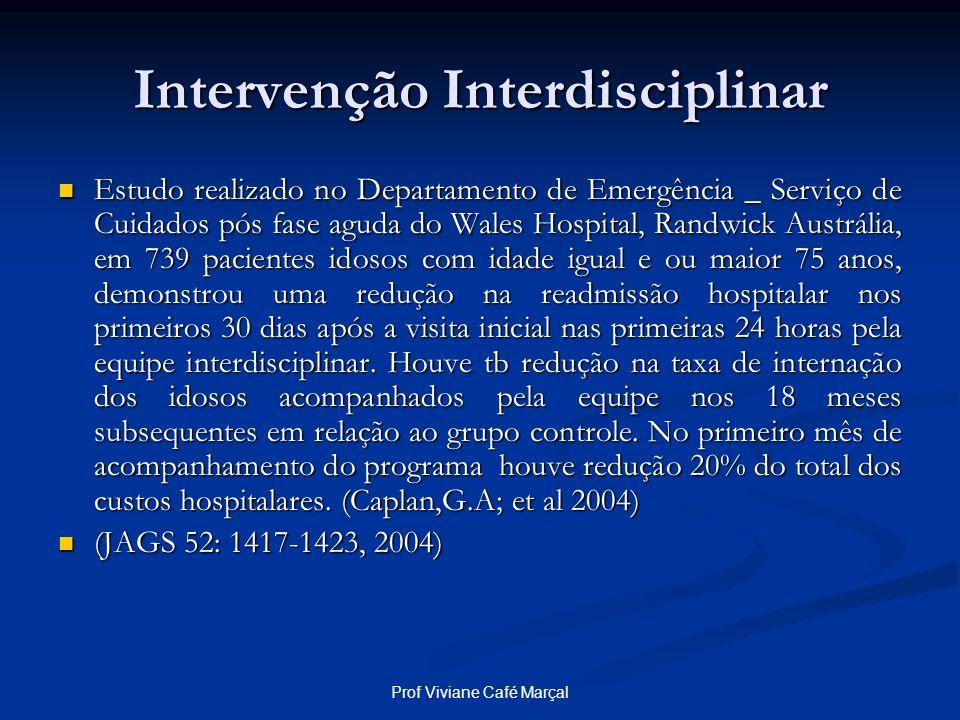 Intervenção Interdisciplinar
