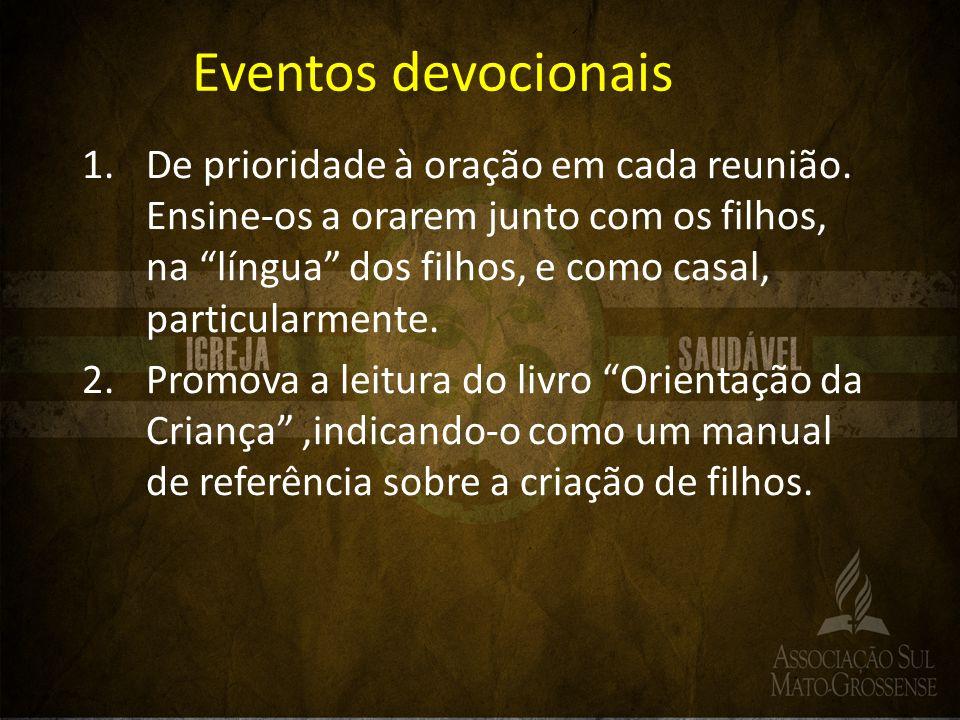 Eventos devocionais