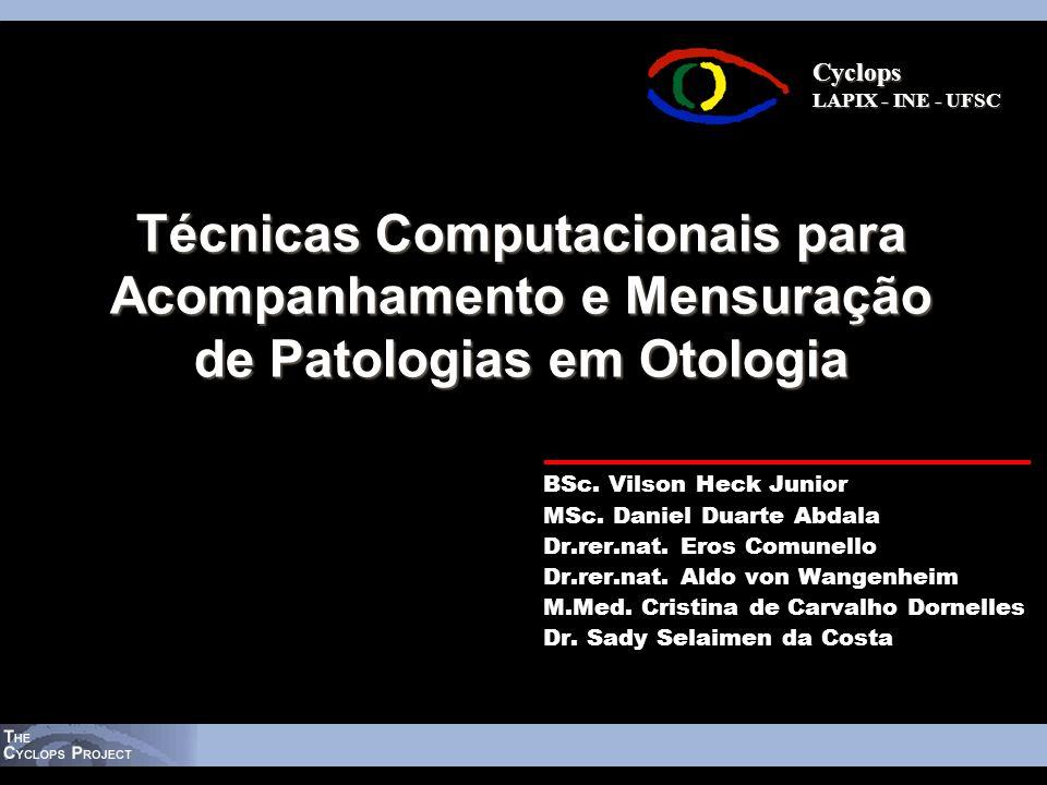Técnicas Computacionais para Acompanhamento e Mensuração de Patologias em Otologia