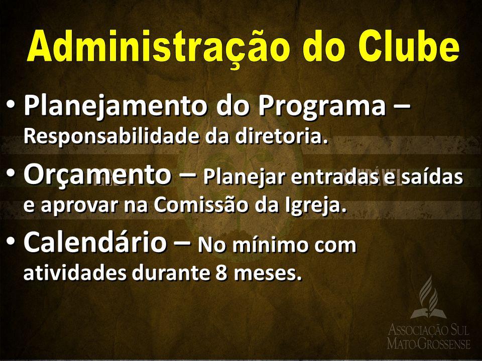 Administração do Clube