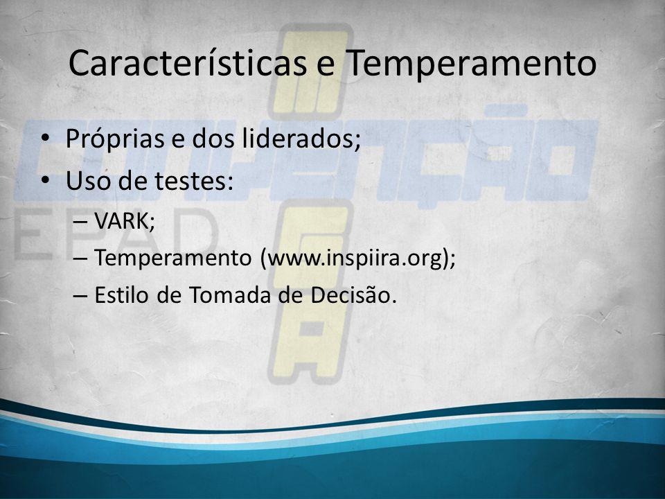 Características e Temperamento