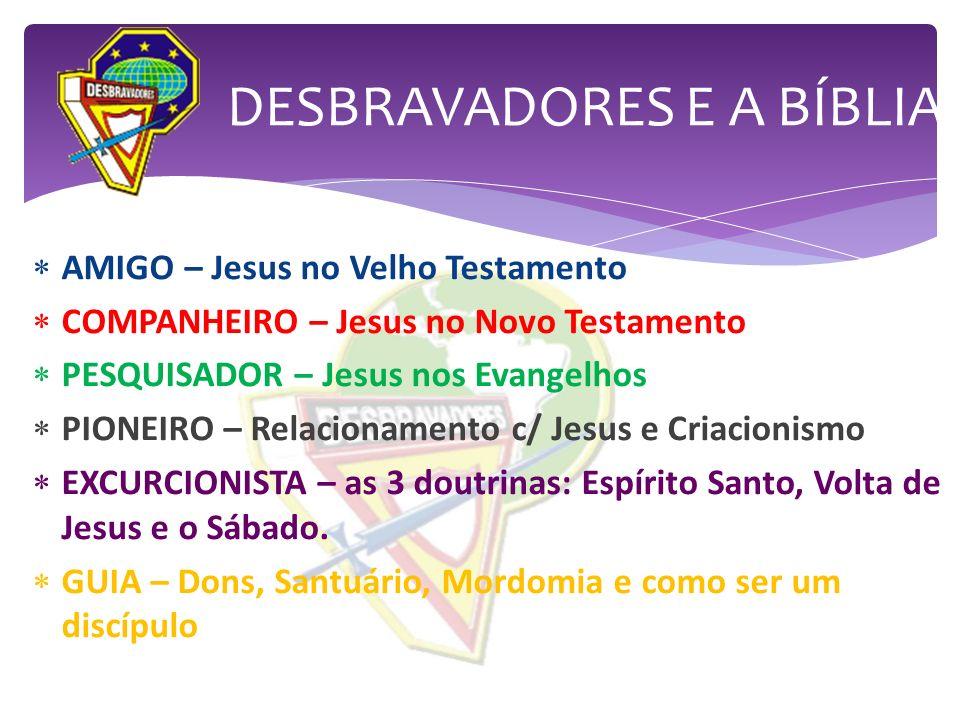 DESBRAVADORES E A BÍBLIA