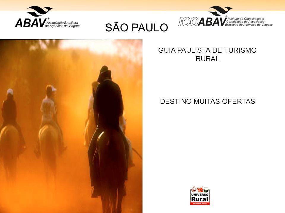 GUIA PAULISTA DE TURISMO RURAL
