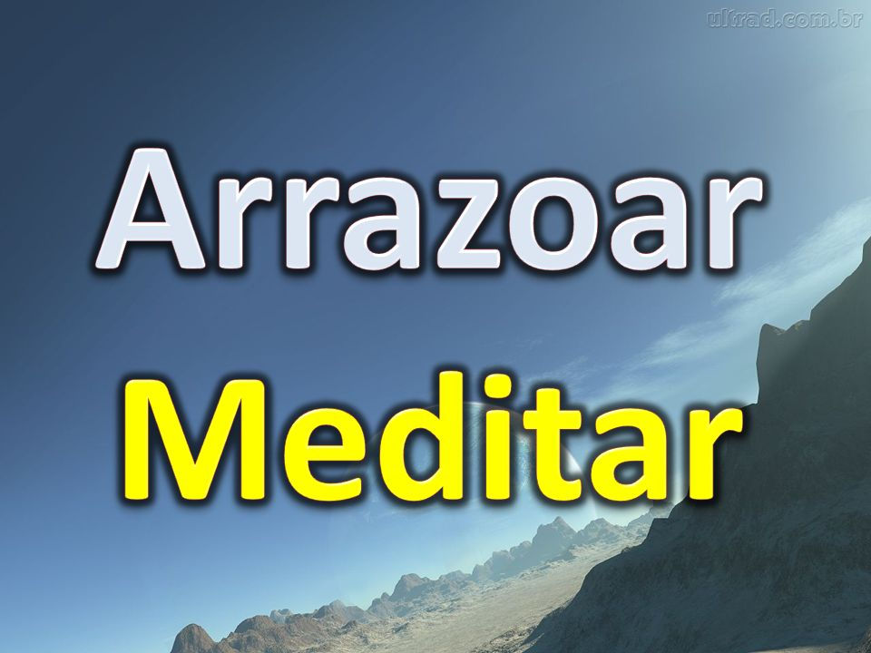 Arrazoar Meditar