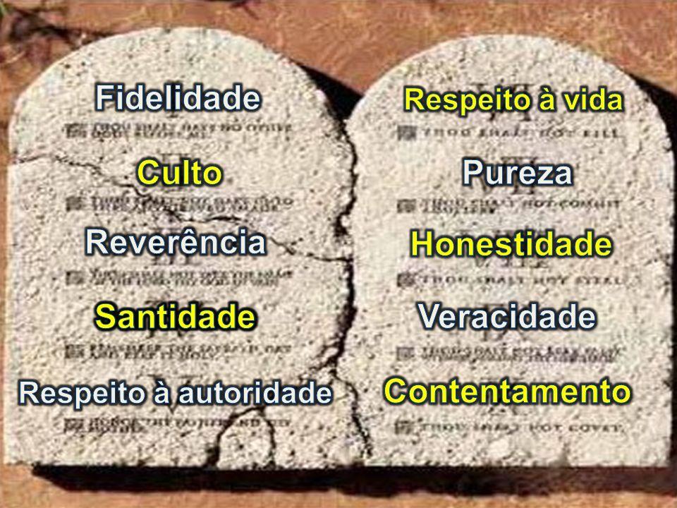 Fidelidade Culto Pureza Reverência Honestidade Santidade Santidade