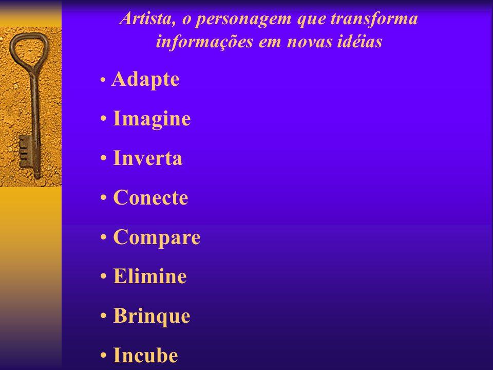 Artista, o personagem que transforma informações em novas idéias