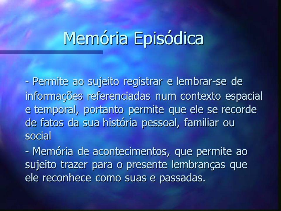 Memória Episódica