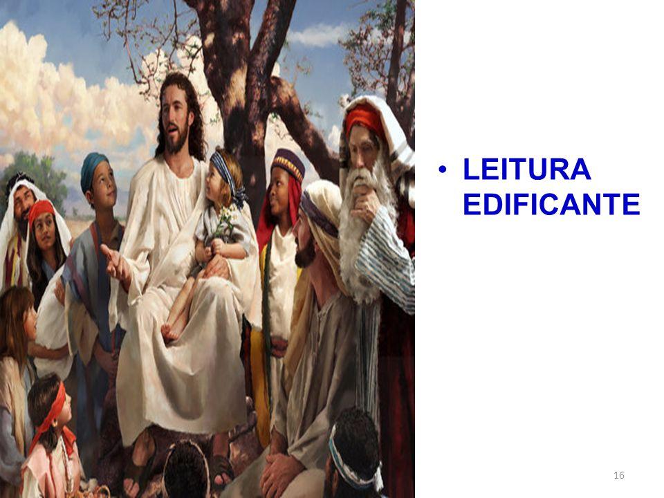 LEITURA EDIFICANTE