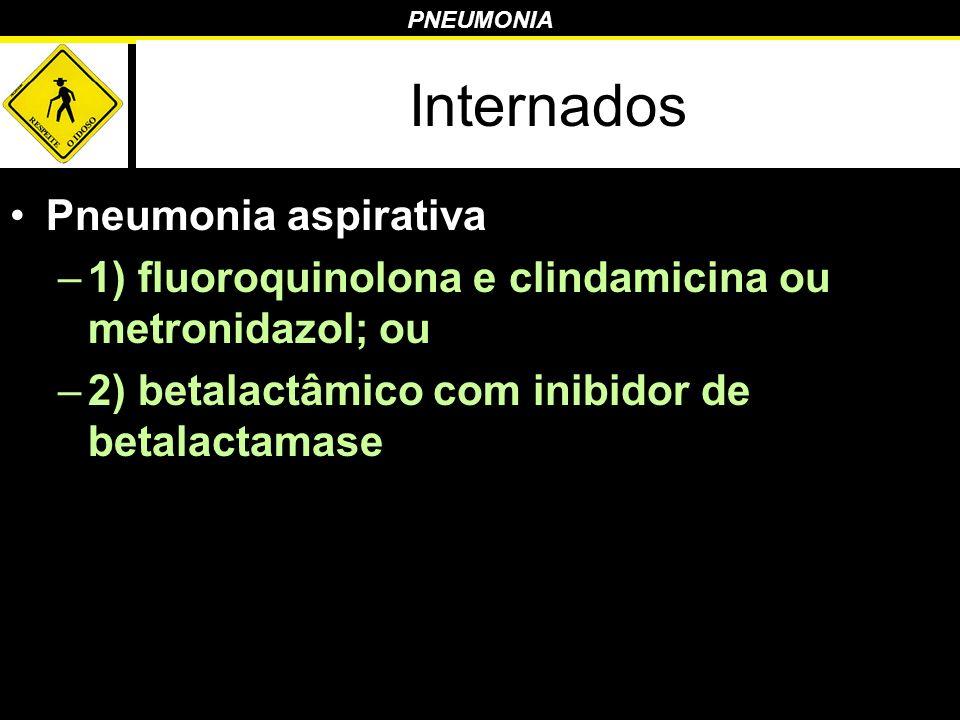 Internados Pneumonia aspirativa