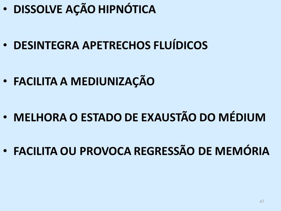 DISSOLVE AÇÃO HIPNÓTICA