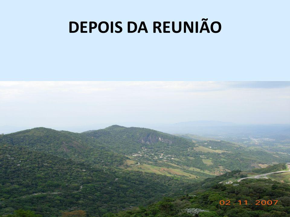 DEPOIS DA REUNIÃO