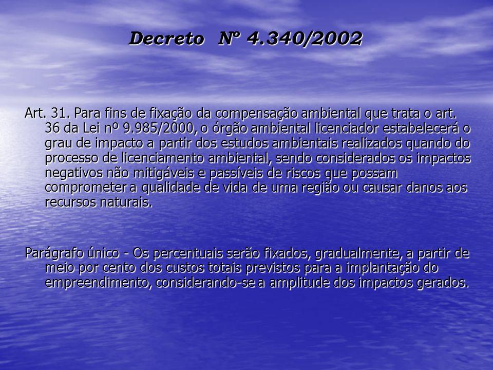 Decreto Nº 4.340/2002