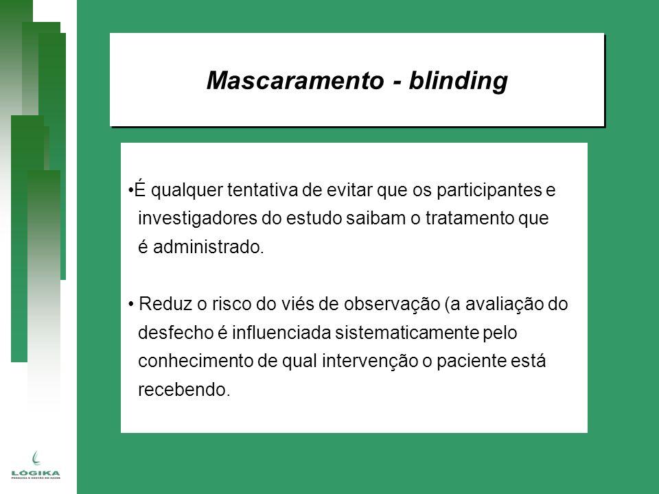 Mascaramento - blinding