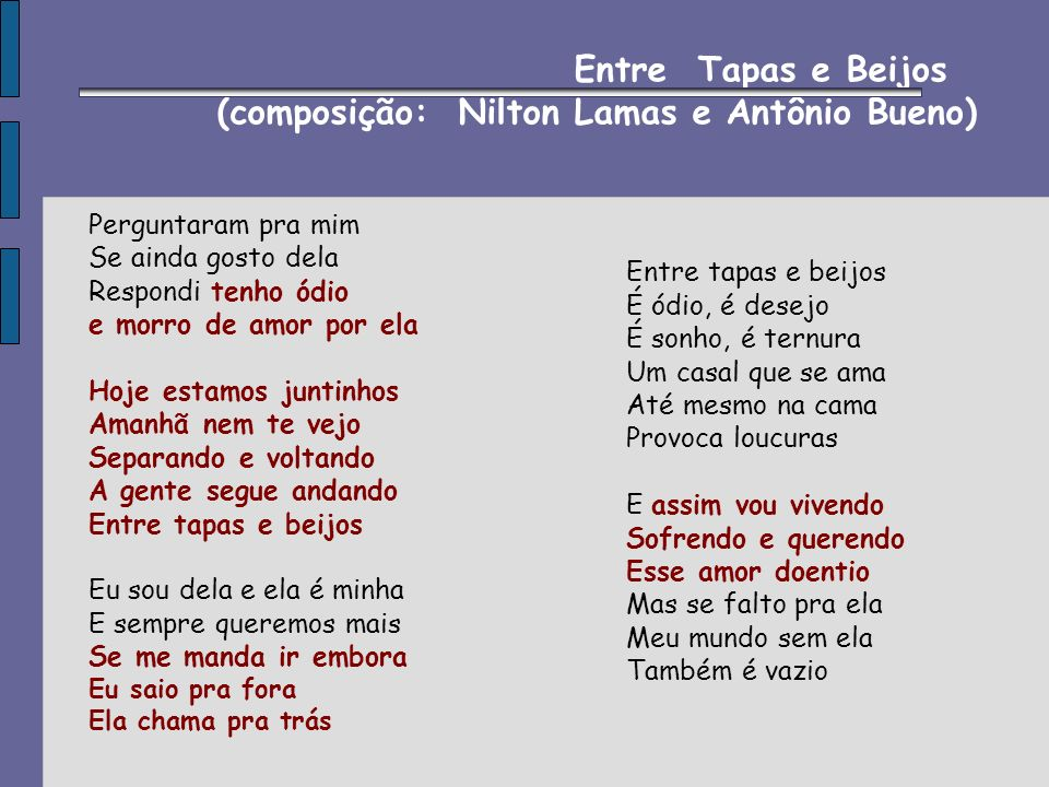 (composição: Nilton Lamas e Antônio Bueno)