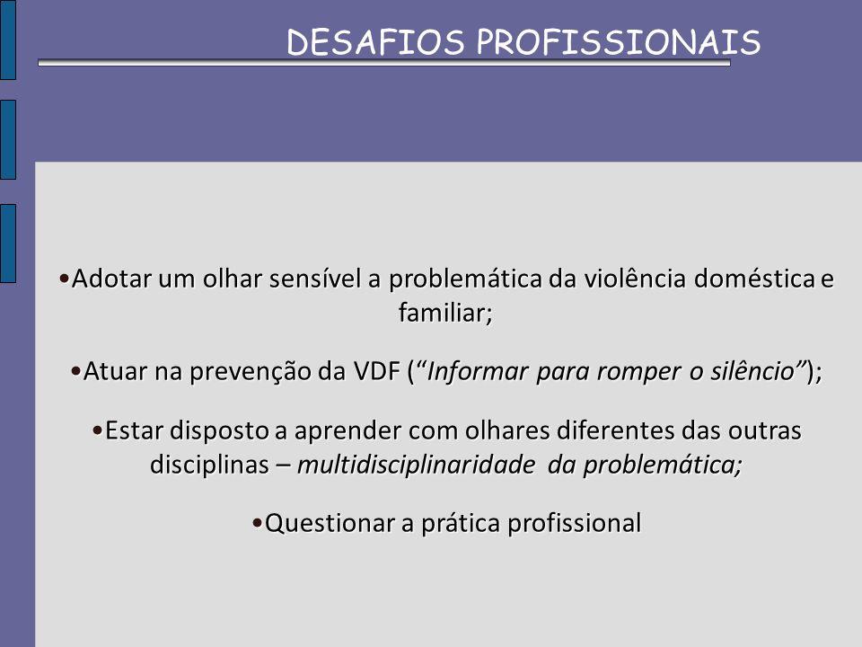 DESAFIOS PROFISSIONAIS