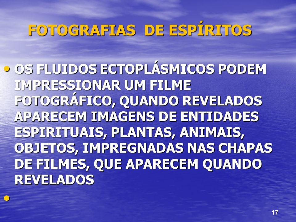 FOTOGRAFIAS DE ESPÍRITOS