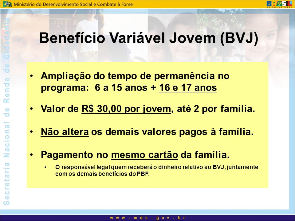 Benefício Variável Jovem (BVJ)
