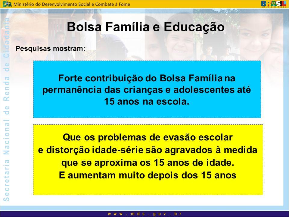 Bolsa Família e Educação