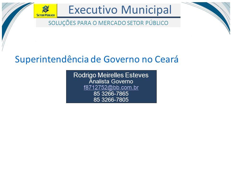 Superintendência de Governo no Ceará
