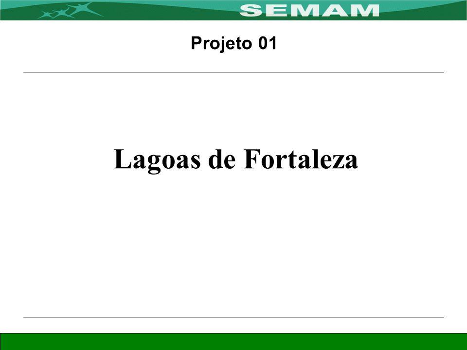 Projeto 01 Lagoas de Fortaleza