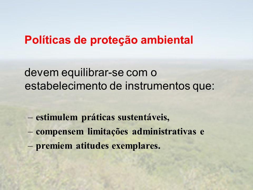 Políticas de proteção ambiental