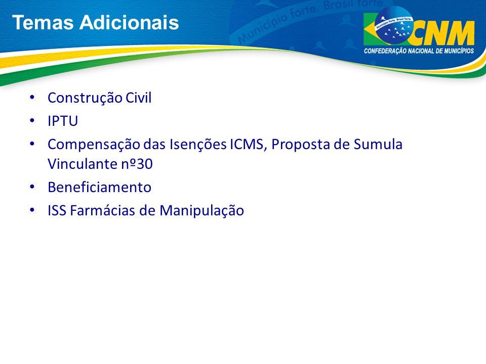Temas Adicionais Construção Civil IPTU