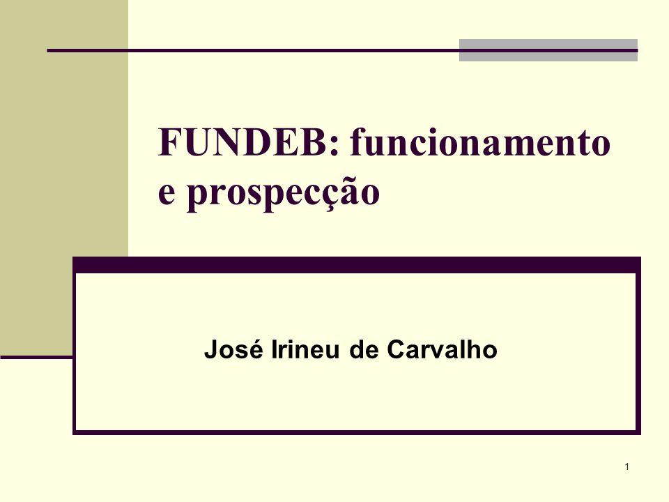 FUNDEB: funcionamento e prospecção