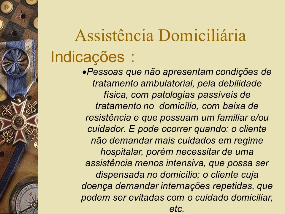 Assistência Domiciliária