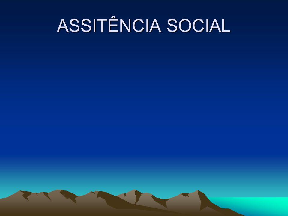 ASSITÊNCIA SOCIAL