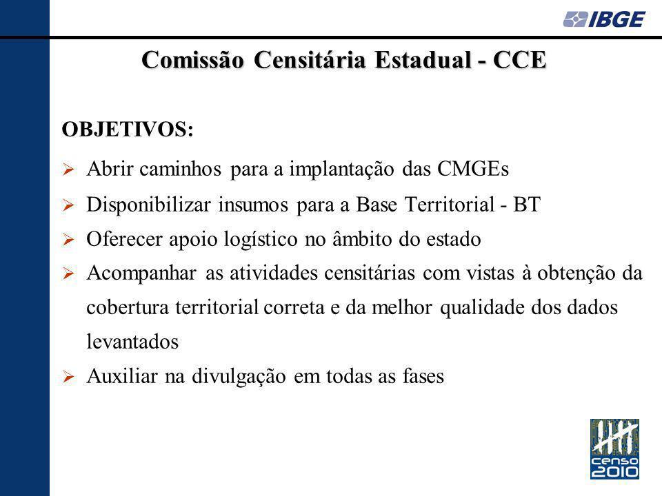 Comissão Censitária Estadual - CCE