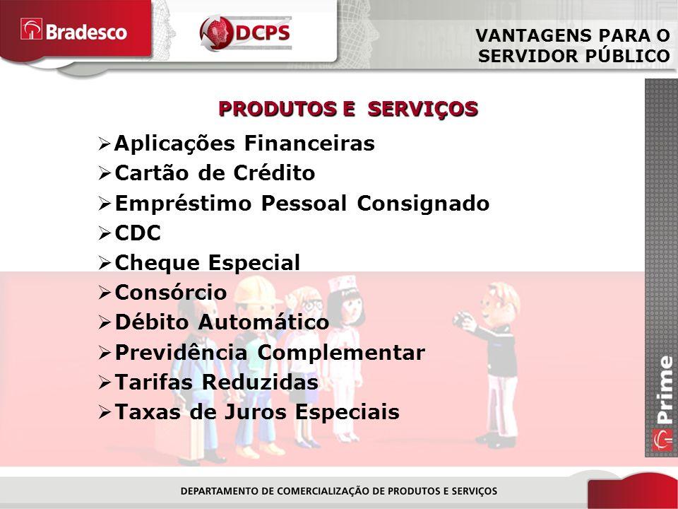 Empréstimo Pessoal Consignado CDC Cheque Especial Consórcio