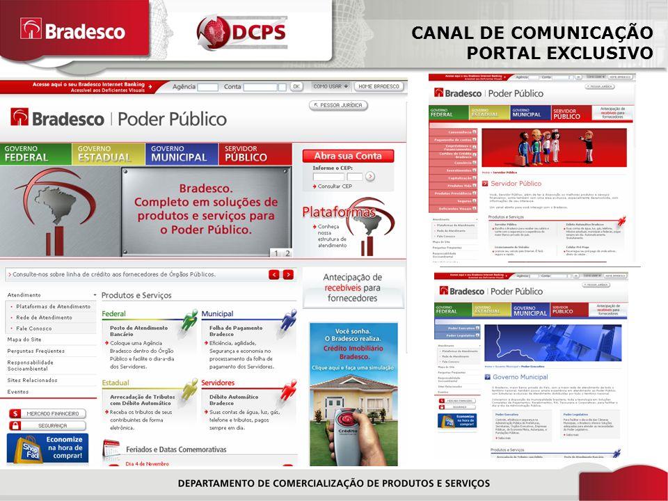 CANAL DE COMUNICAÇÃO PORTAL EXCLUSIVO