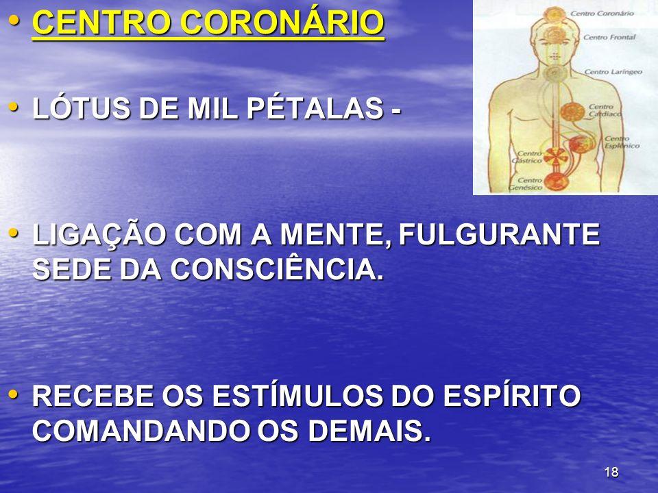 CENTRO CORONÁRIO LÓTUS DE MIL PÉTALAS -