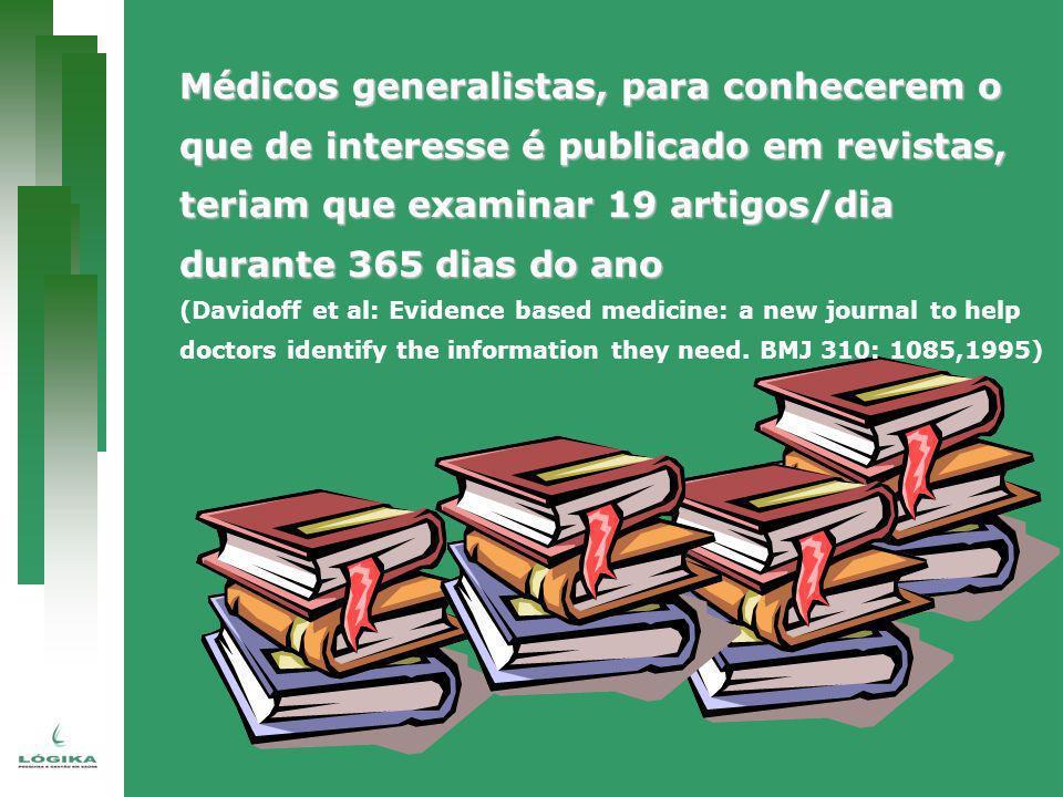 Médicos generalistas, para conhecerem o