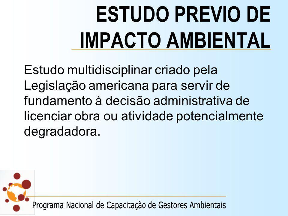 ESTUDO PREVIO DE IMPACTO AMBIENTAL