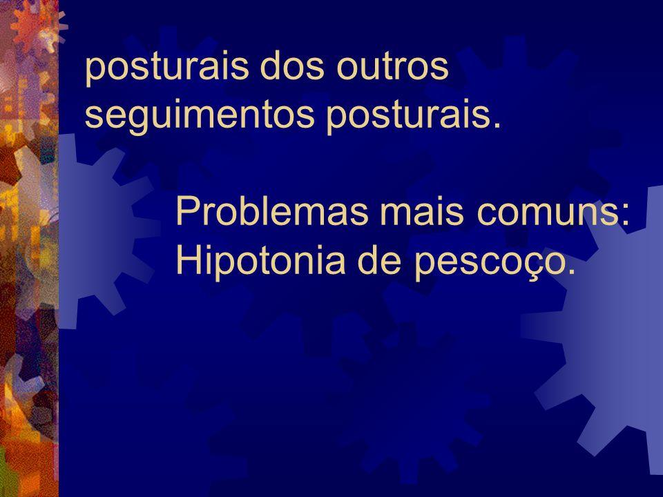 posturais dos outros seguimentos posturais
