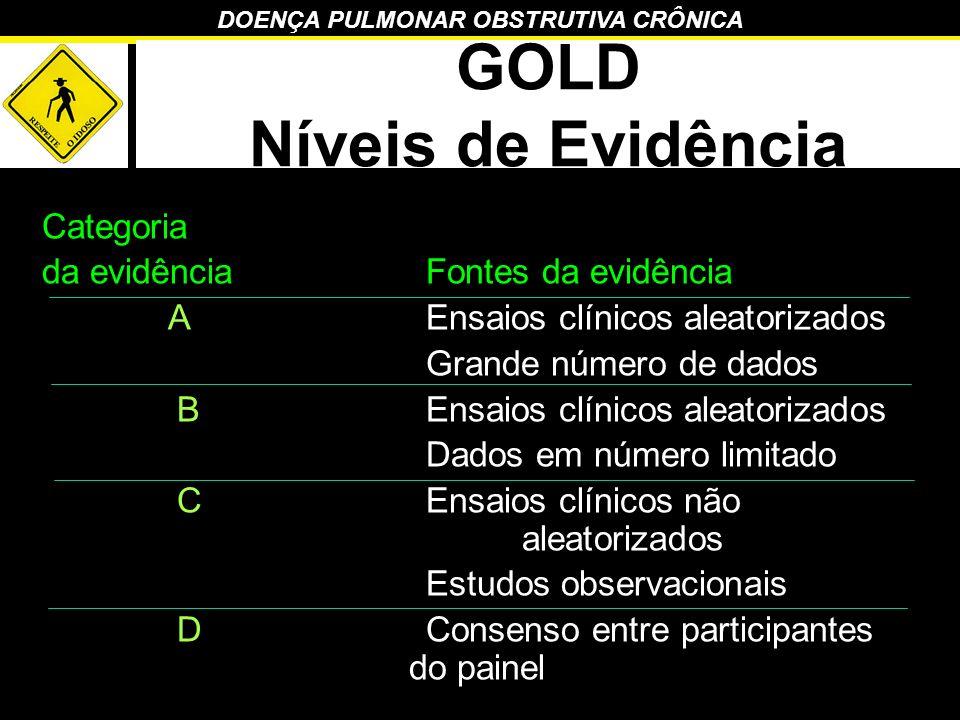GOLD Níveis de Evidência