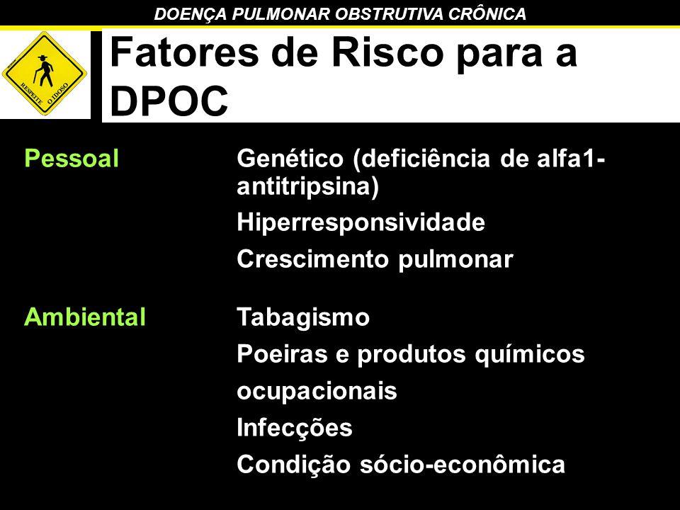 Fatores de Risco para a DPOC