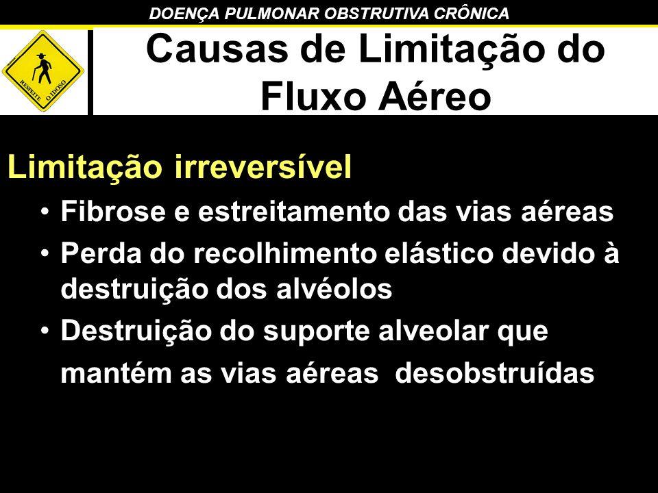 Causas de Limitação do Fluxo Aéreo