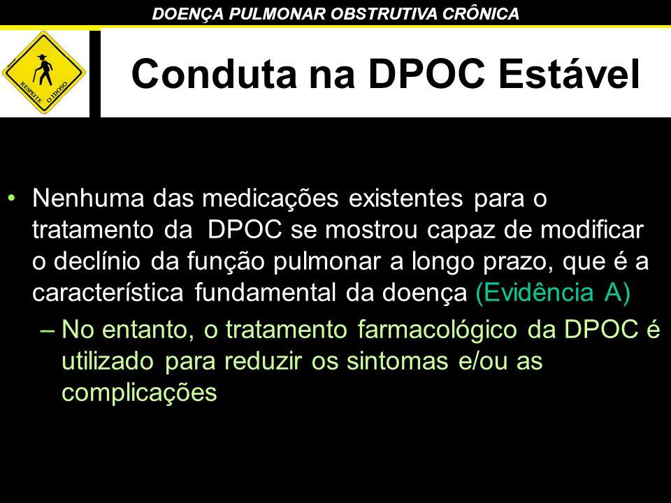 Conduta na DPOC Estável